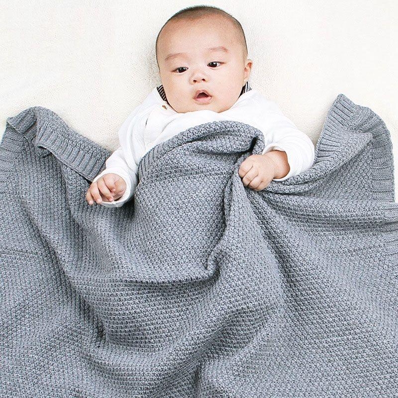 2020 الاطفال بطانيات عارضة البطانيات الطفل التريكو الوليد قمط التفاف لينة طفل أريكة السرير لحاف عربة طفل بطانيات