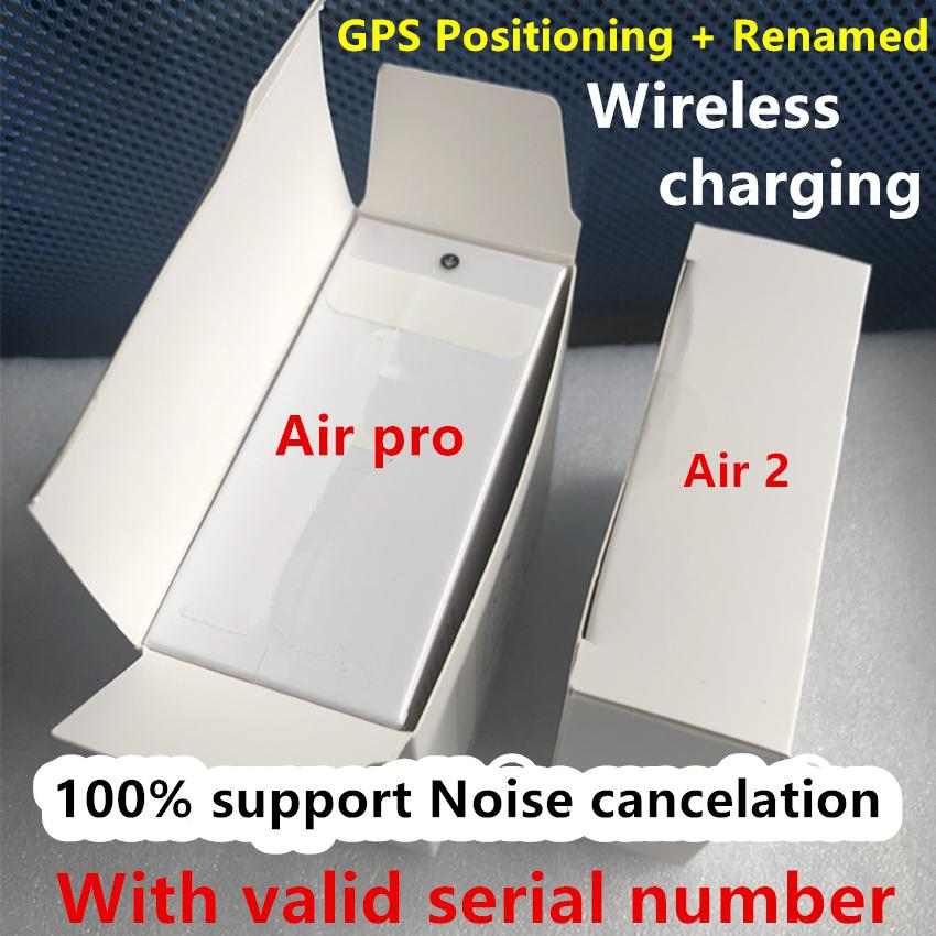 Air Gen 3 AP3 Generation 3 Noise cancelation transparency Rename earphones Wireless Charging Bluetooth Headphones Earbuds 2nd Generation