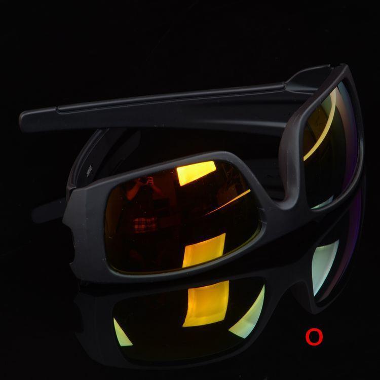 Da sole di estate di marca del progettista 7 colori Uomini Sport Classic bicicletta da sole abbaglia vetri di colore 5962 Occhiali da sole
