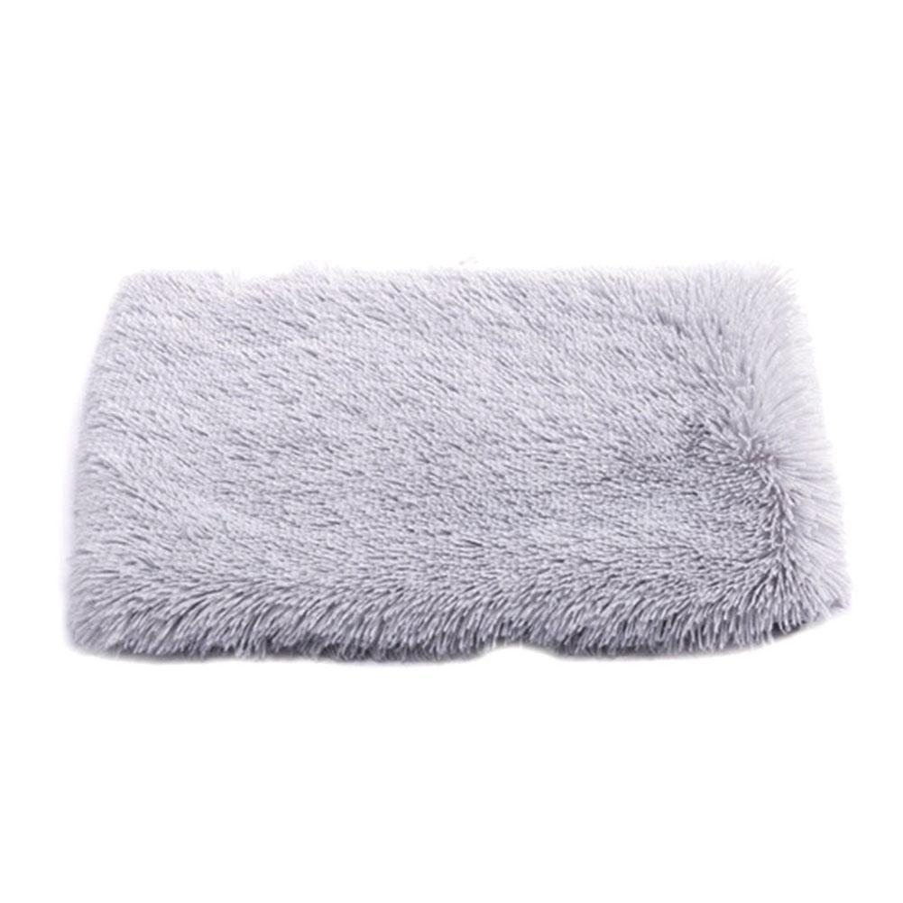 Mantener la cama para dormir caliente del rectángulo práctica otoño invierno estera del animal doméstico perro de peluche del gato