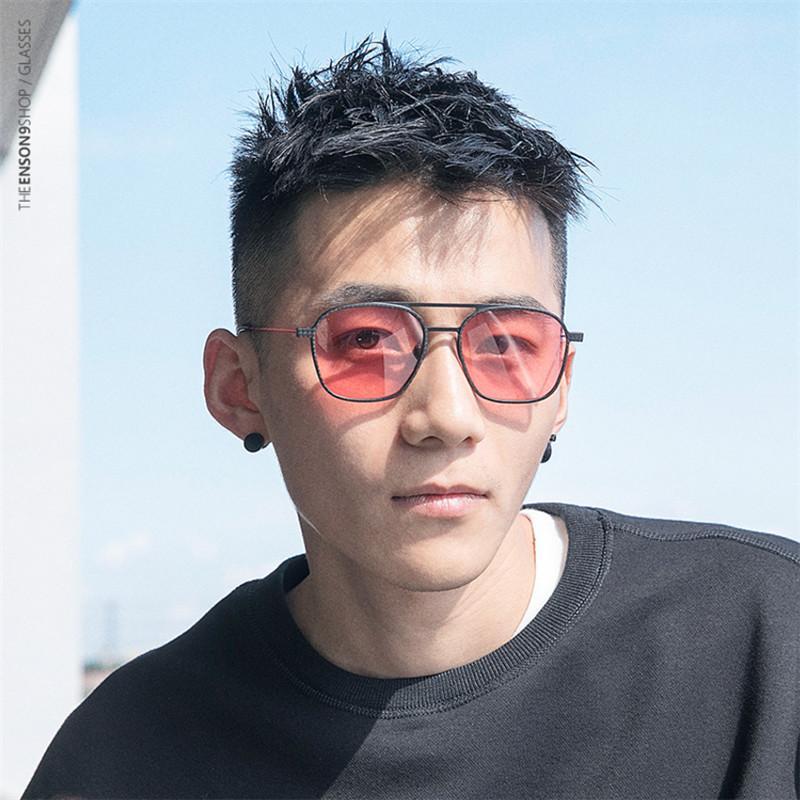 visión OYE327 Noche de la vendimia UV400 polarizado 2019 nuevas gafas de sol de fibra de carbono para los hombres TR90 Gafas de sol