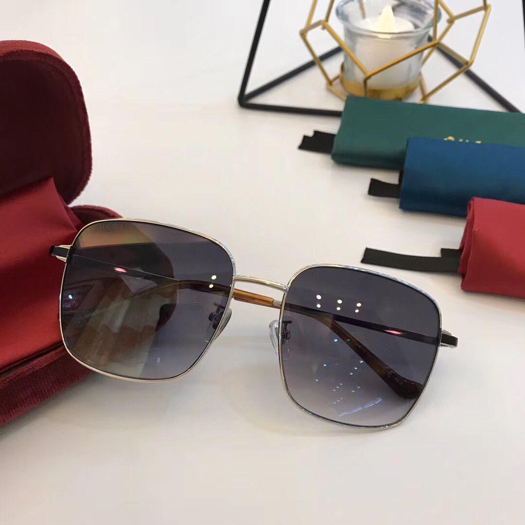 Top Quality 0755 fresco Ultraleve Conjoined Mens Womens Designer Luxury Sunglasses populares retangulares Sunglasses 100% UV Protection Com Box