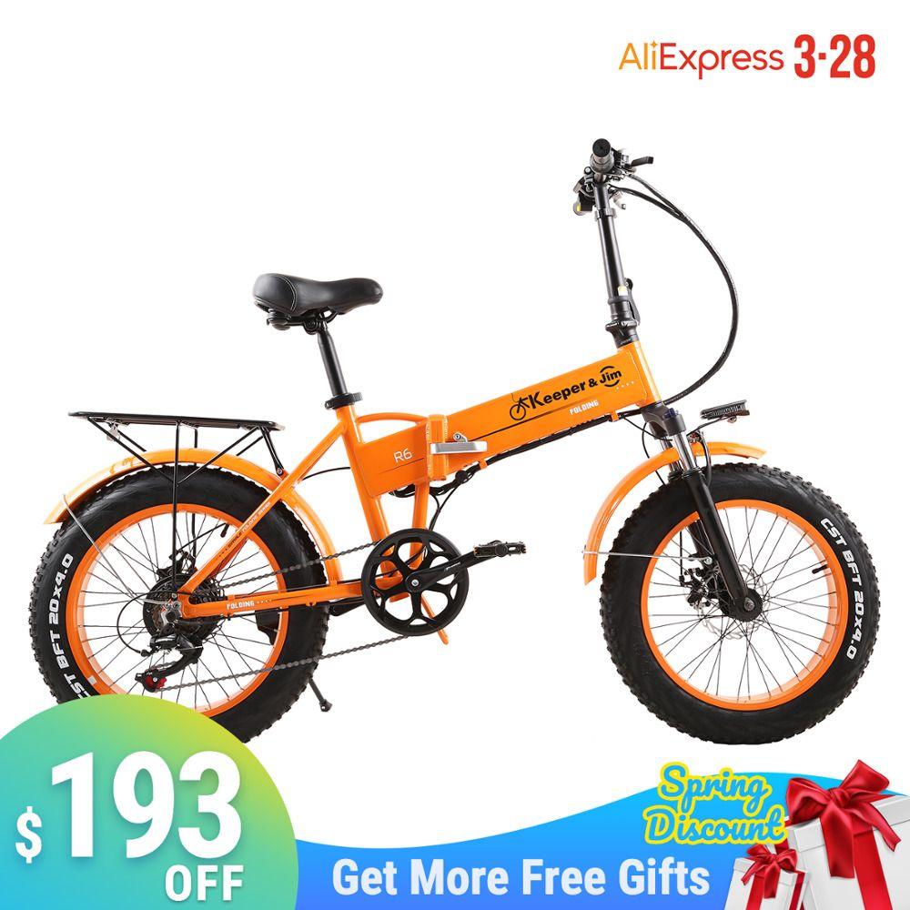 "neumático de bicicleta eléctrica 500W grasa en bicicleta de montaña 7speed 45 kmh ebike de la batería 20"" Off 2020 bicicleta de carretera nueva bicicleta eléctrica"