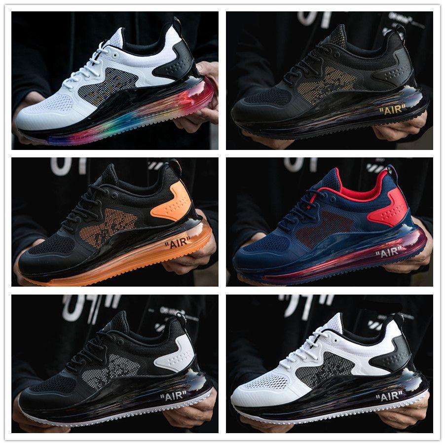 2021 Black Magma 720-818 Мужские беговые туфли Металлическая серебряная пуля чистые белые AQUA CNY 720S мужские спортивные дизайнерские кроссовки 40-45