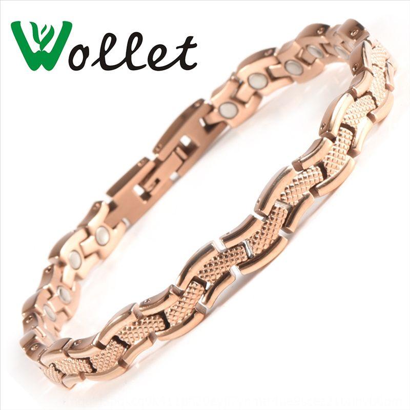 uciyB Wolette heißen Verkauf Edelstahl koreanischer Stil trendy Stein Armband Armband Stein