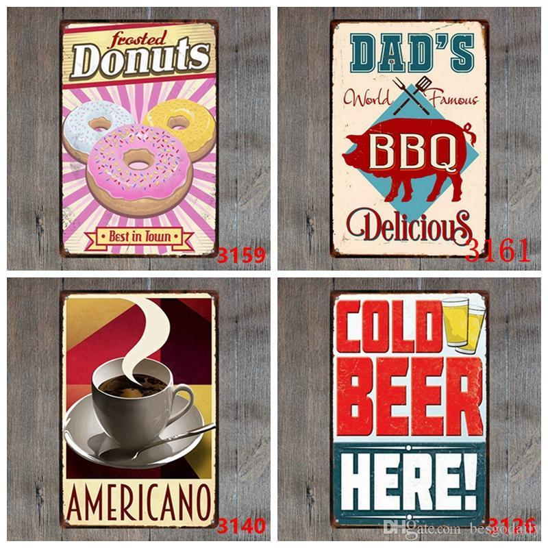 Tin Signs Champion Beer Route 66 Vintage Wall Art Retro TIN SIGN Old Wall Metal Painting ART Bar Pub Restaurant Home Decoration DH2593 DBC