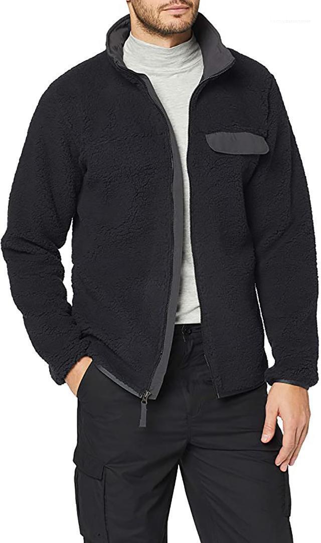 Abrigos al aire libre masculino ropa para hombre de la chaqueta del diseñador gruesa chaqueta de invierno manera ocasional prendas de vestir exteriores del color sólido del Adolescente