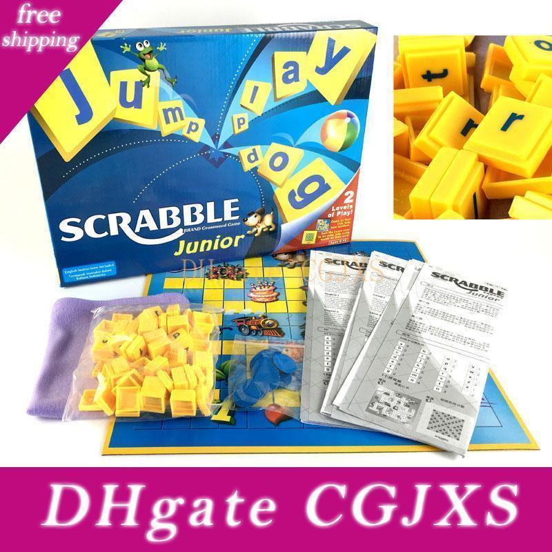 Puzzle Junior Scrabble Fun Word divertente gioco di parole Multi -Persona interazione educativa gioca il partito Crossword Spell Gioco