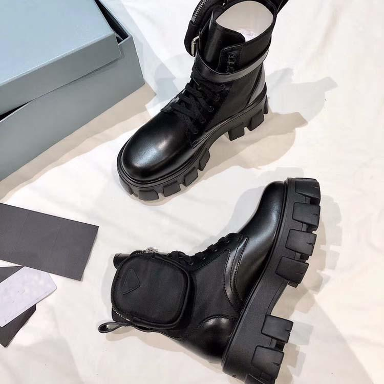 Designer donne di lusso Martin Boots-alto livello di moda Desert Boot Marchi Stivali autunno e l'inverno della neve Boot formato 35-40 con la scatola