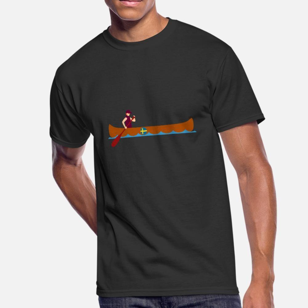 kano kano isveç komik hediye fikri t gömlek erkekler kişiselleştirilmiş pamuk Euro Boyutu S-3XL Temel Katı Fit Komik Casual İlkbahar Sonbahar gömlek