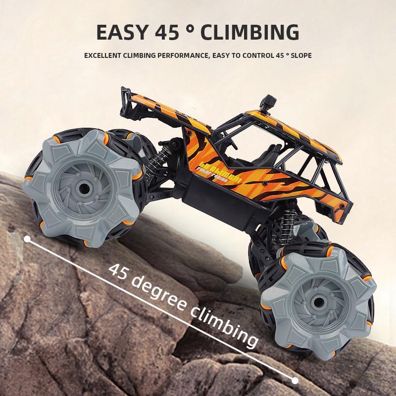 dört çeker uzaktan kumanda oyuncak model KAPALI-road araç tırmanma araba childre Koca ayak alaşım dağcılık yeni büyük versiyonunu En çok satan