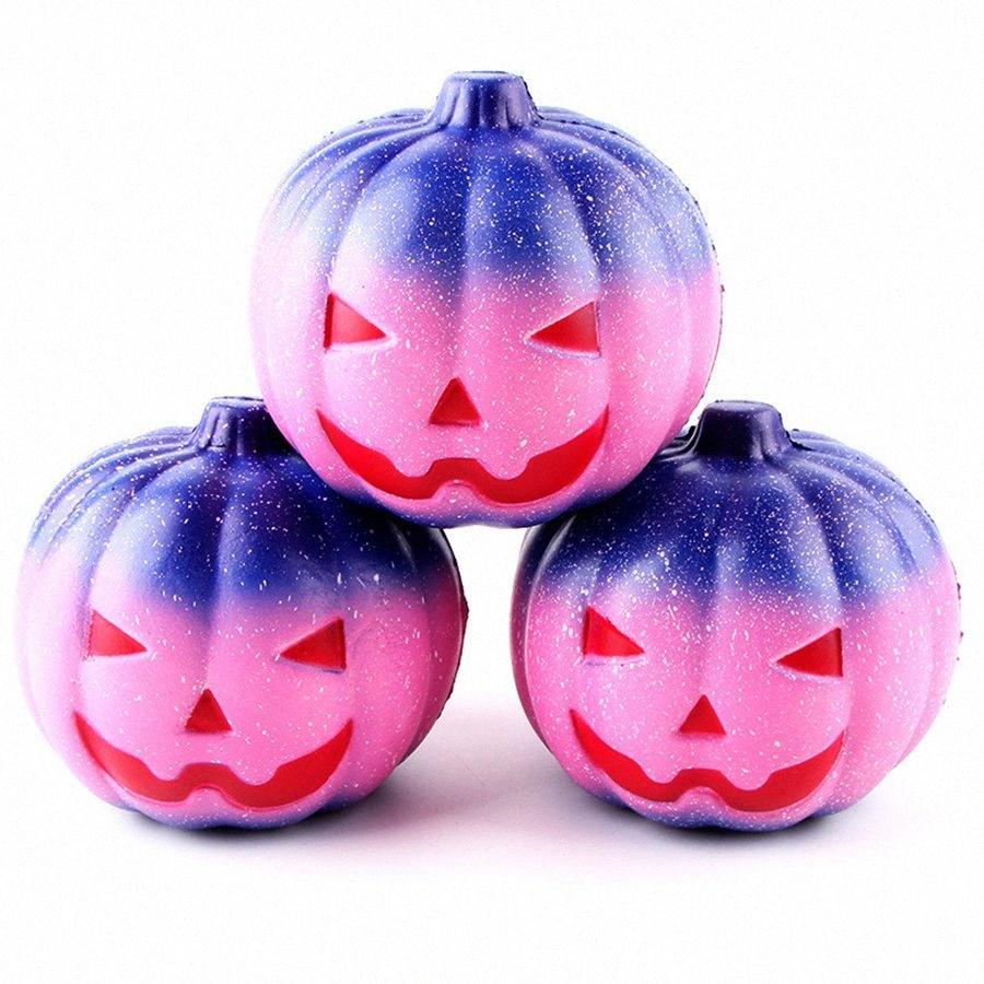 11см Хэллоуин подарков Прекрасный Squishy Slow Восходящая Squeeze Упругие хлеб Charm Stress Relief игрушки благосклонности партии RRA1583 bOhT #