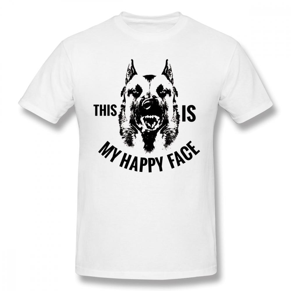 Tyburn Malinois T-Shirt Belgischer Schäfer Malinois T-Shirt der beiläufigen Männer-T-Shirt Lustige Cotton XXX Kurzhülse Druck-T-Shirt