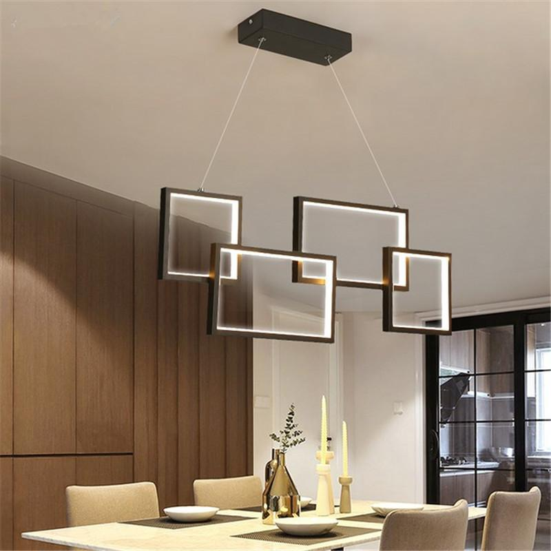 New Modern Pendant Lights For Living Room Dining Room Kitchen room Office Fixture Creative LED Pendant Lamp Input 110V 220V
