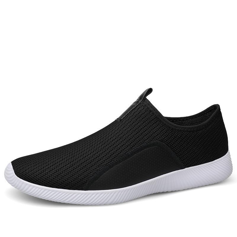 38-46 Tenis Masculino Mode 2020 Hommes Chaussures de tennis été en plein air respirante Lumière douce Chaussures Homme antidérapante adulte pas cher