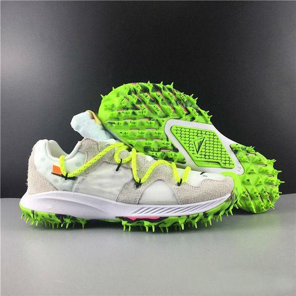 Yeni Sürüm Marka Tasarımcı Yakınlaştırma Terra Kiger 5 OW Eğitmenler Siyah Pembe Beyaz Elektrikli Yeşil Kadın Erkek Basamak Spor Sneakers Ayakkabı