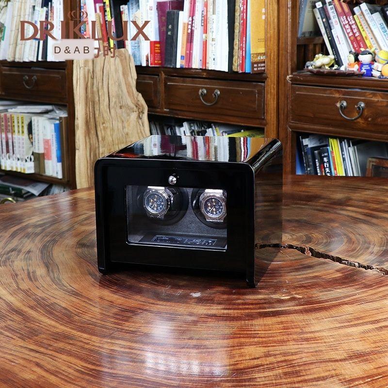 vhYAu DrikLux Shaker mechanische Haushaltsdrehhalter Touchscreen Lagerung Shaker Uhr-Kasten Uhr Aufbewahrungsbox box