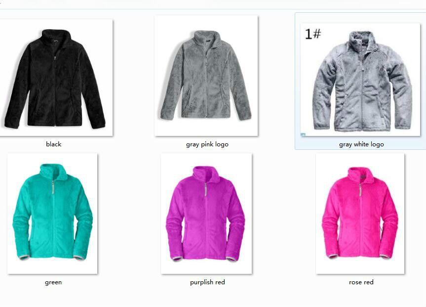 빠른 선박 야외 어린이 Osito 양털 재킷 어린이 의류 nort 얼굴 아이 OSITO 자켓 소녀 소년 눈 코트 겨울 드레스 코트