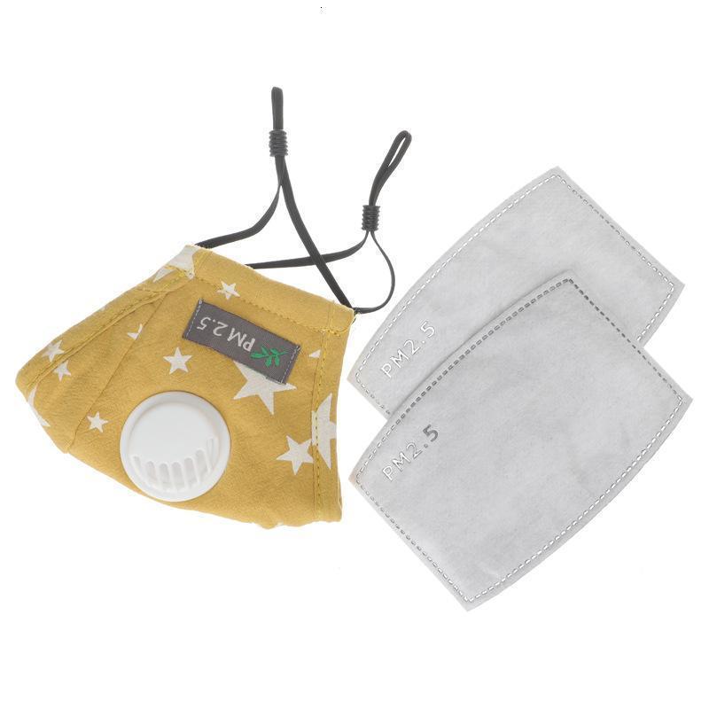 Versand Masken mit Dhl Ventil Atem PM2.5 Mund-Maske für Kinder Cartoon Wiederverwendbare Waschbar Anti- T5wf