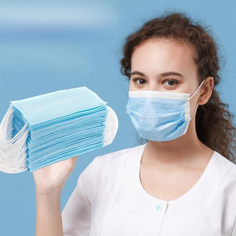 Em estoque!! Rosto 3 Ply laço respirável e confortável para bloquear máscaras contra poeira Poluição do Ar Proteção Pacote Eea1443 8 # 3571