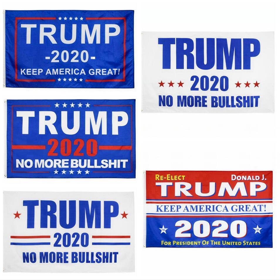 11 개 스타일 90 * 150cm 트럼프 깃발 장식 배너 미국 대통령 선거는 미국 디지털 인쇄 플래그 정원 장식 LJJP399 매달려 공급