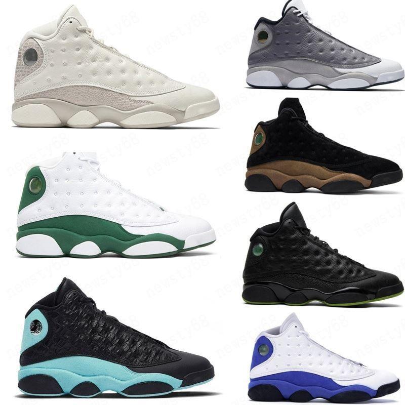 Hot inverse Il Got Game 13s Hommes Femmes Chaussures de basket-ball 13 Green Island Black Cat Court Bred Violet Hyper royal hommes de sport Chaussures de sport