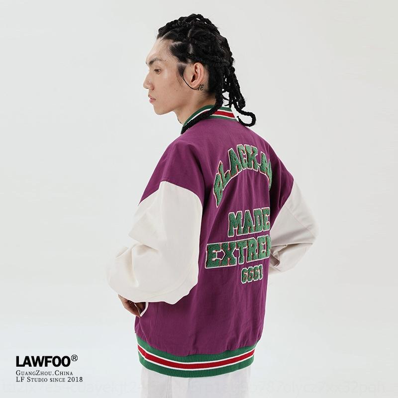 JiP5Q yv1Jz LawFoo2020 otoño e invierno traje traje uniforme de béisbol Moda Nacional de Nueva juego bordado color me uniforme de béisbol de los hombres