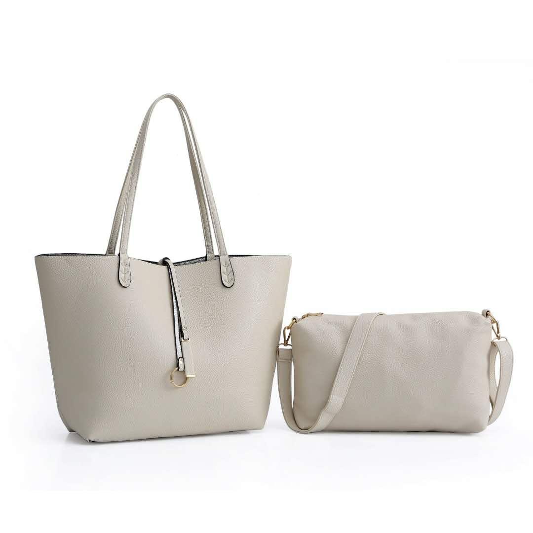 Tote grande saco generoso bolsa simples e temperamento ombro mãe saco pérola ouro PU e capacidade filho cqvgn