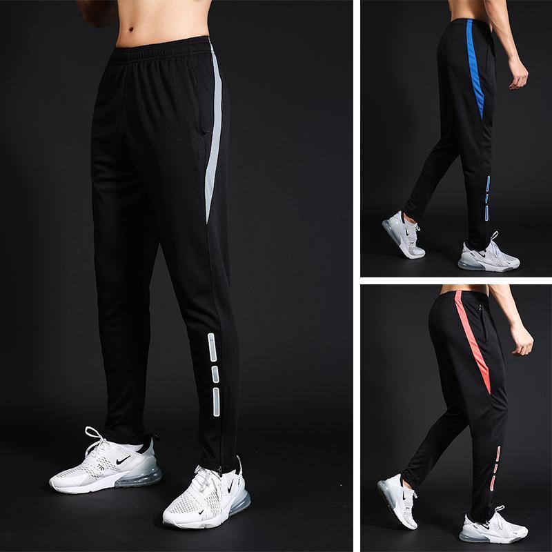 Laufsport Männer Hosen Bodybuilding Sport Fussball Hose Training Pants Elastizität Legging Jogginghose Gym
