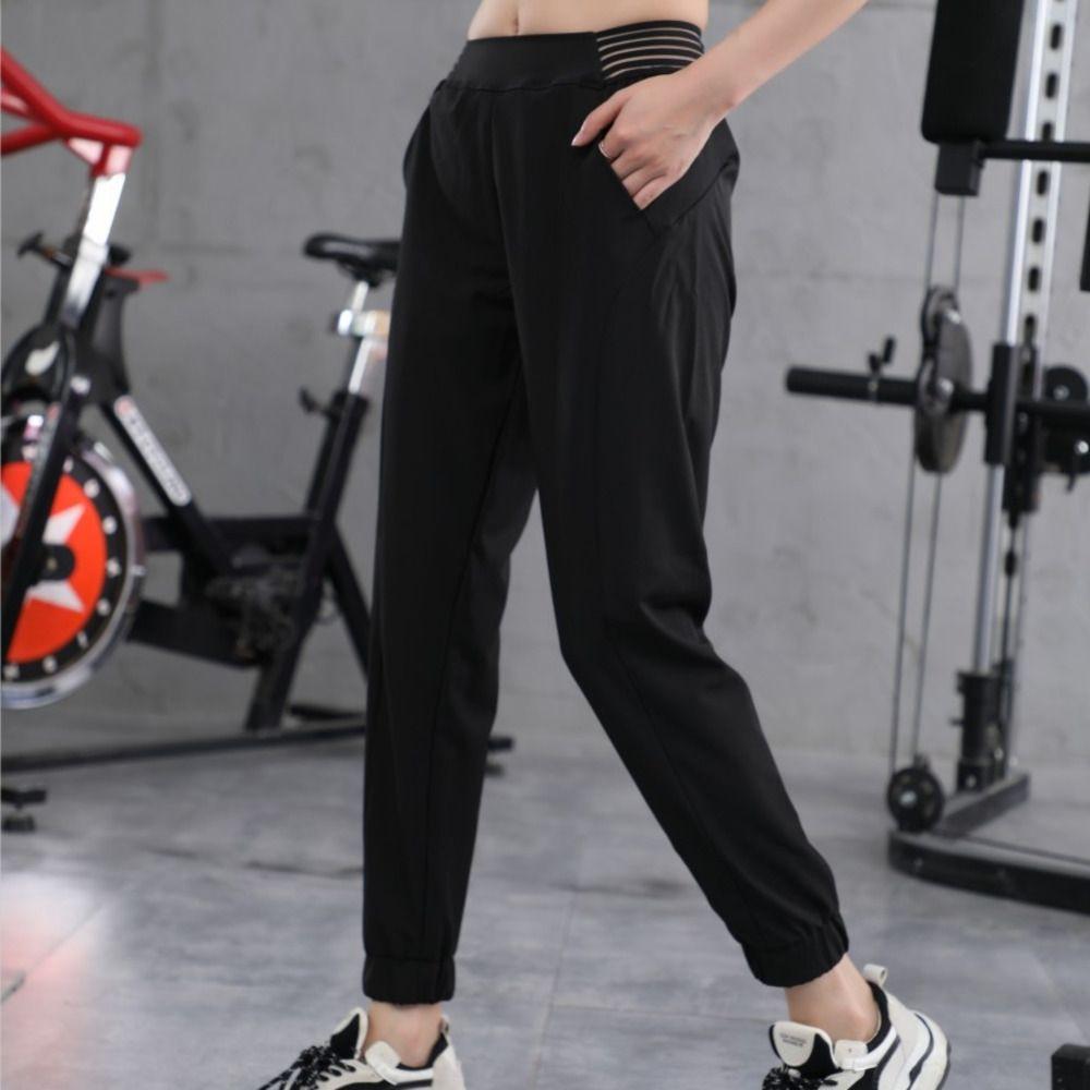 Online Berühmtheit 2020 neue Fitness-Verschleiß Yoga Sport Sport des Sommers der Frauen lose Füße abnehmen Yogahosen laufen Pluderhosen Frauen E0SeP E0Se