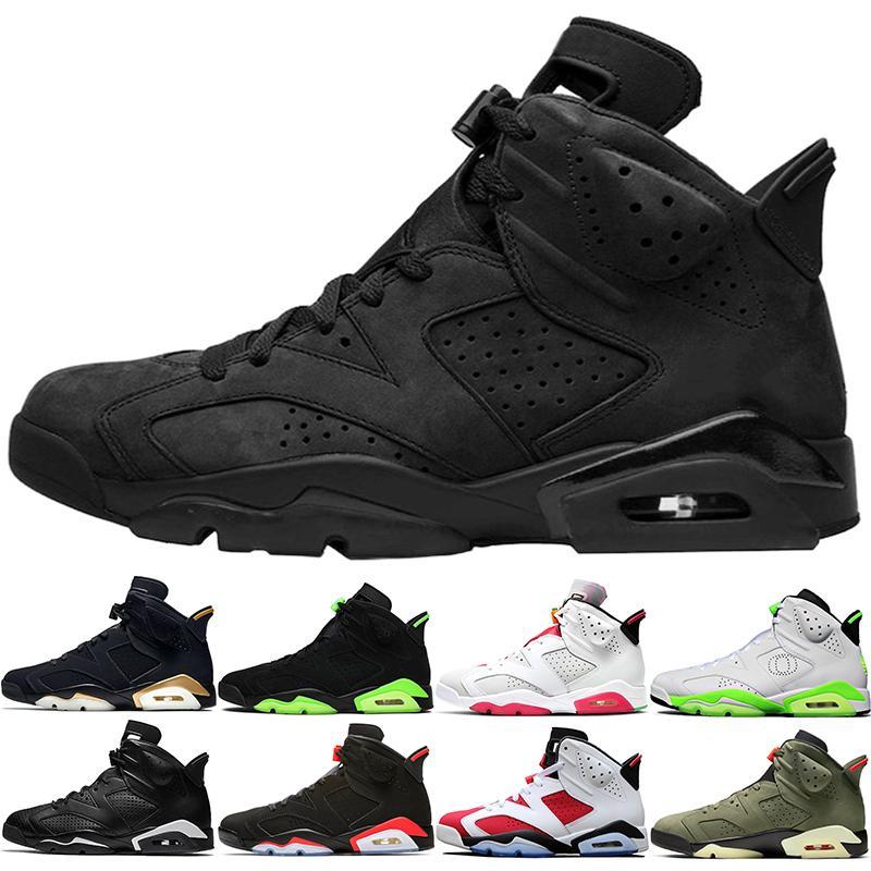 6 2019 أسود أحذية كرة السلة 6 ثانية الرجال 6 تينكر unc الأسود القط كارمين gatorade تورو مارون أوريو رجل مدرب الرياضة رياضة حجم 41-47