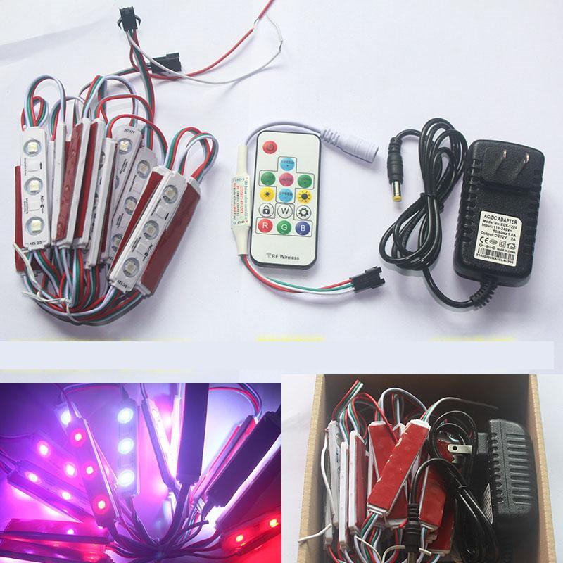 20W Светодиодный модуль Водонепроницаемый IC2811 модуль света для освещения Box, включая контроллер и POWR питания
