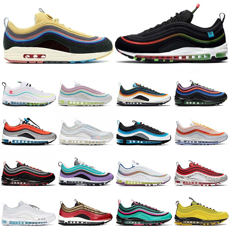 chunky dunky 97 sean wotherspoon running shoes 97s Worldwide Oudoor Vibes Bred mens womens trainers outdoor sports sneakers