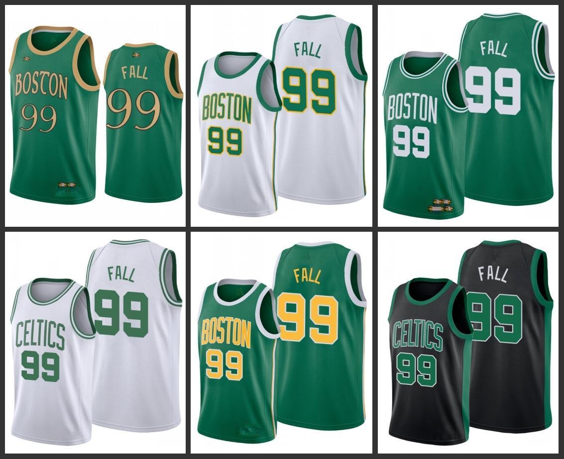 BostonCelticsTacko Fall Men City Basketball Jersey