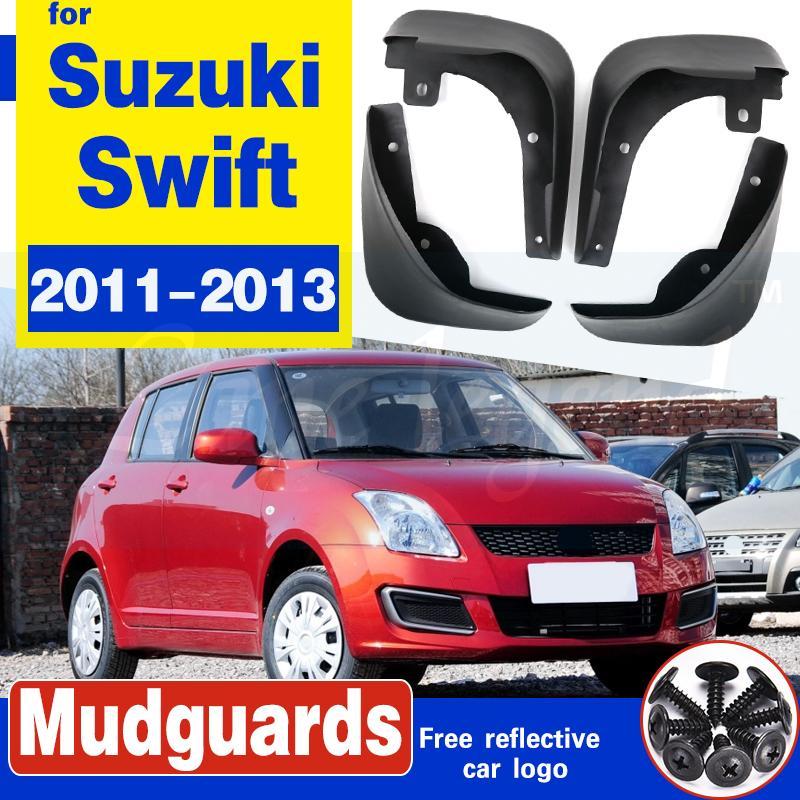 Boue arrière avant Rabats Pour Suzuki Swift 2011 2012 2013 Fender Splash Guards bavettes garde-boue Accessoires voiture