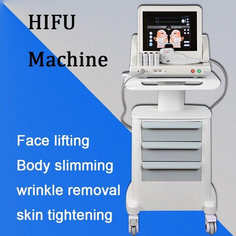 Yüz makine HIFU'yu Sıkma taşınabilir HIFU kilo kaybı HIFU Cilt nHhj # ultrason kaldırma cilt yüz germe makinesi odaklı