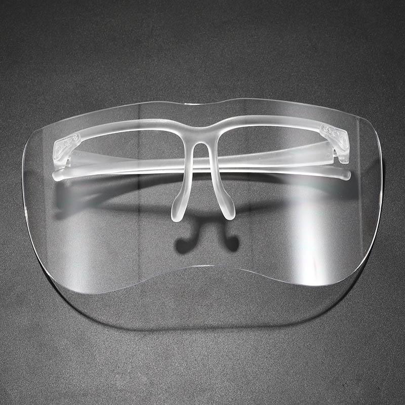 도매 2020 새로운 디자이너 음영 안티 UV400 스프레이 대형 자전거를 protectived 남녀는 분명 렌즈 태양 안경 선글라스