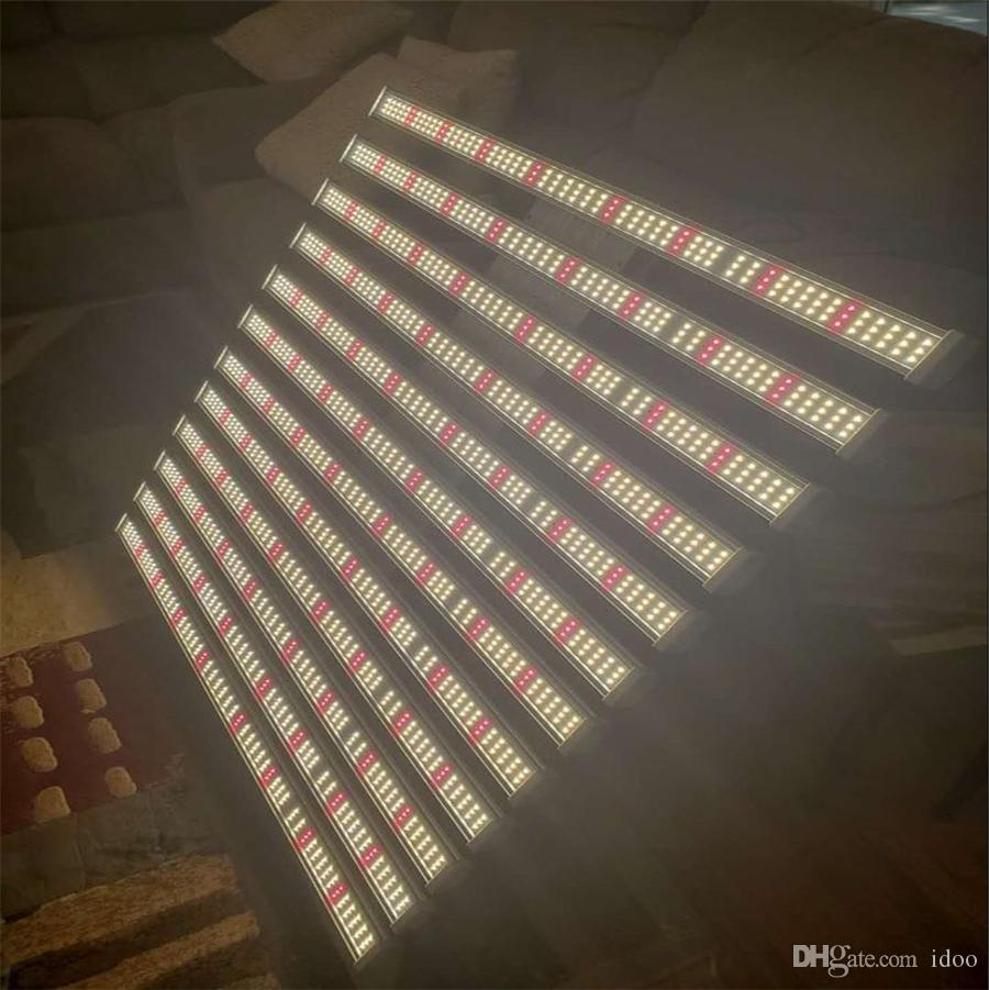 Dimmable تنمو الأنوار 12bars 960W سامسونج الصمام لوحة phyto مصباح لوحة الطيف الكامل مع جهاز التحكم عن بعد ل إضاءة النباتات الداخلية