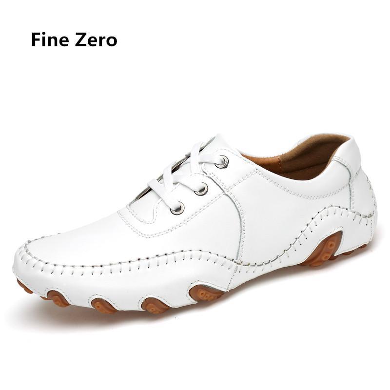 Homens grande tamanho 46 couro sapatos casuais homens de Oxford Shoes Sping Outono vestido de negócios Flats Masculino calçado Driving