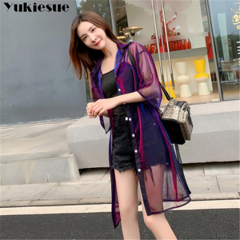 camicetta 2020 donne estate per la donna le donne Blusas womens top e camicette mujer della maglia del merletto camicie Ladie top plus size