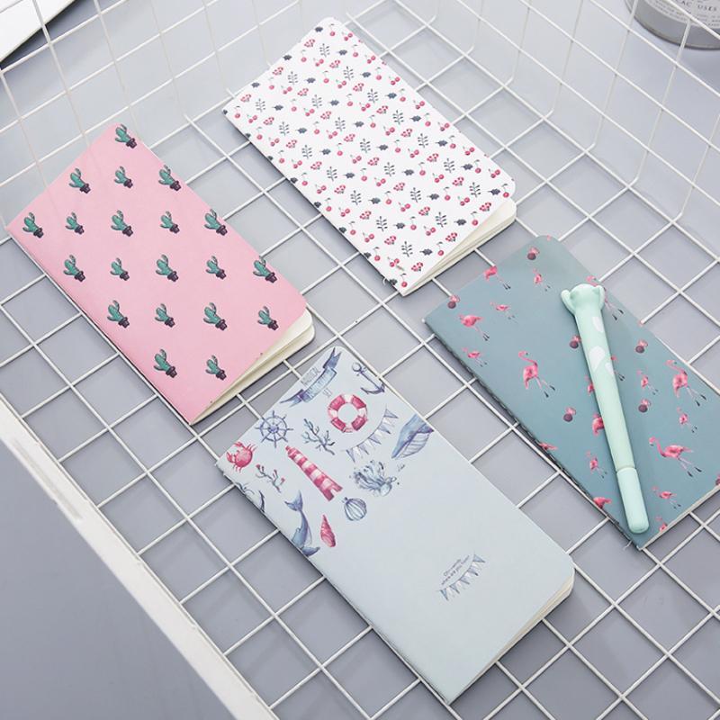 12books Kawaii Cactus Bloc de notas flamenco cereza Planificador Notebook la Lista de tareas Escuela de papelería del estudiante de libro