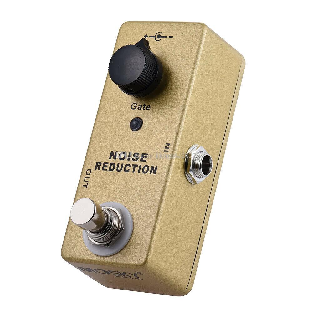 1PC Riduzione del rumore Guitar Effect Pedal Pedal Sul suono True Bypass Gate Effect
