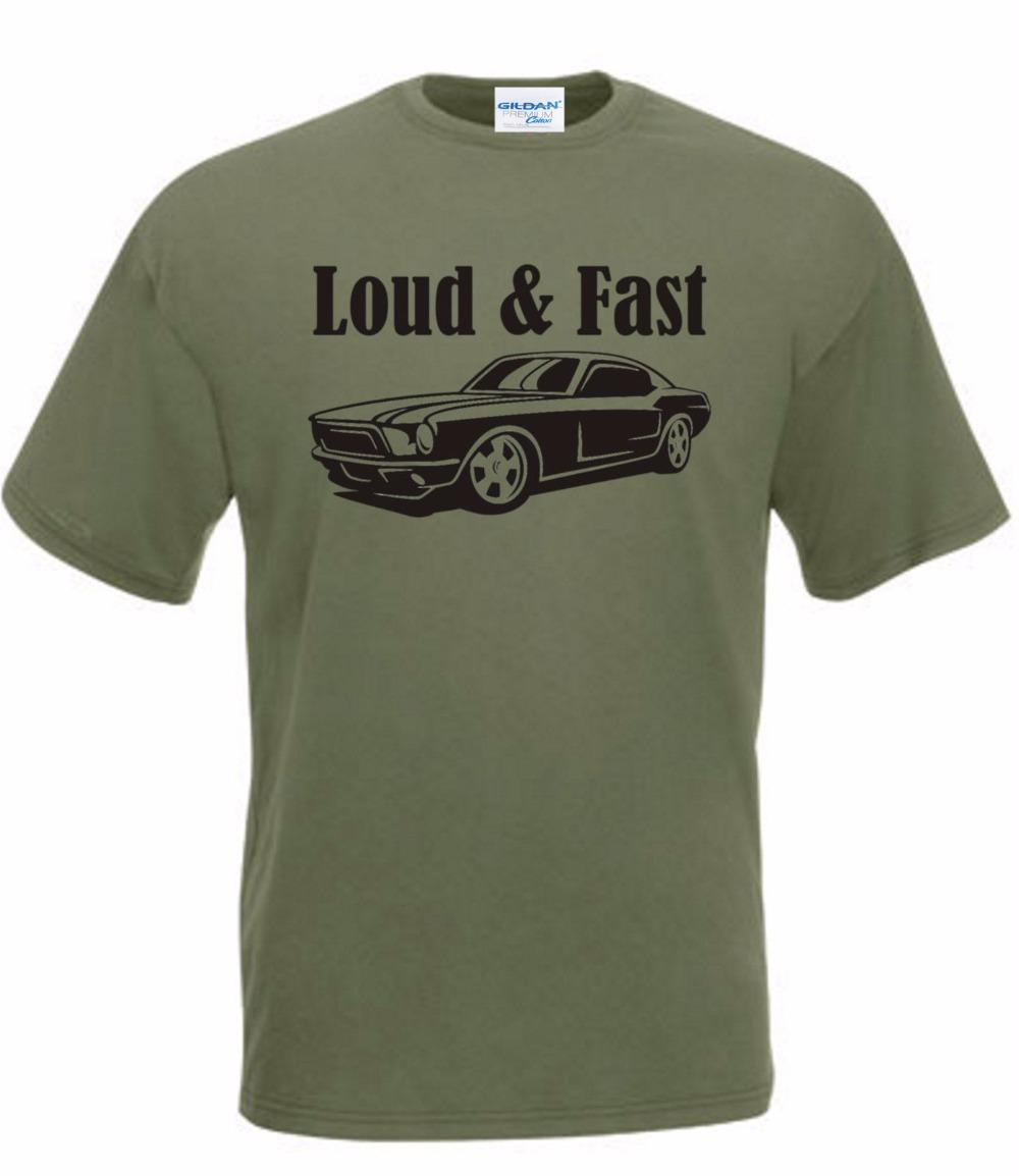 Marca Estilo manga curta Auto Sportiva maglietta camisetas d'epoca alto e Veloce oldschool Muscle US Car V8 feitos camisa T