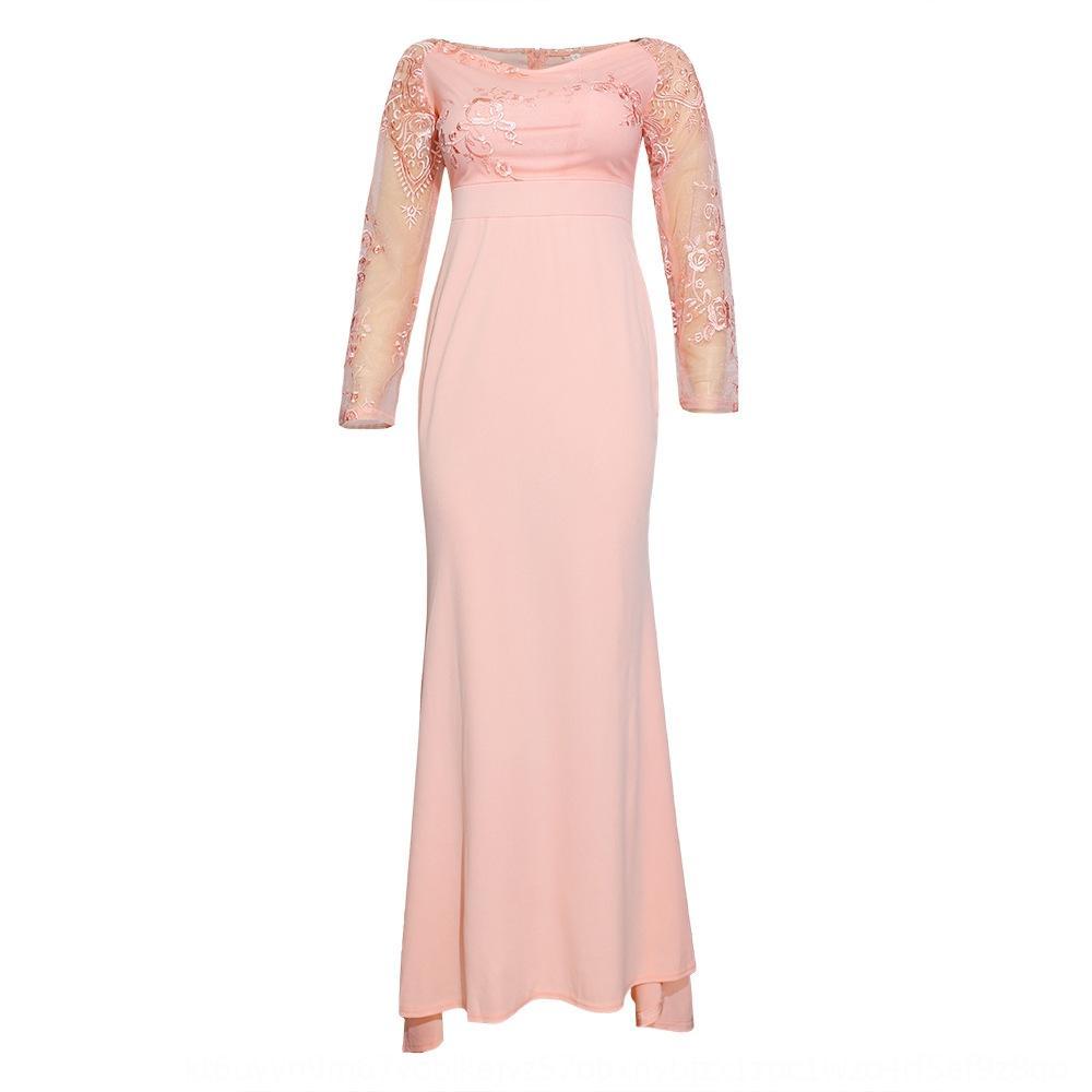 тонкого сексуальных кружевное платье швабры банкет вечернего платья вечернего платья Швабра P2RCe Женского