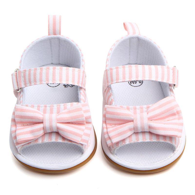 First Walkers Girls Soft Bottom Bow Plaid Princess Baby Snowdler Zapatos Moda 0-1 años YH-17