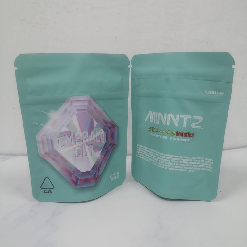 Нового 3.5G COOKIES California SF White Runtz ИЗУМРУД CUT ЛЬВЫ МАНЕ касание кожа Лимонад Защита от детей Пакет упаковка