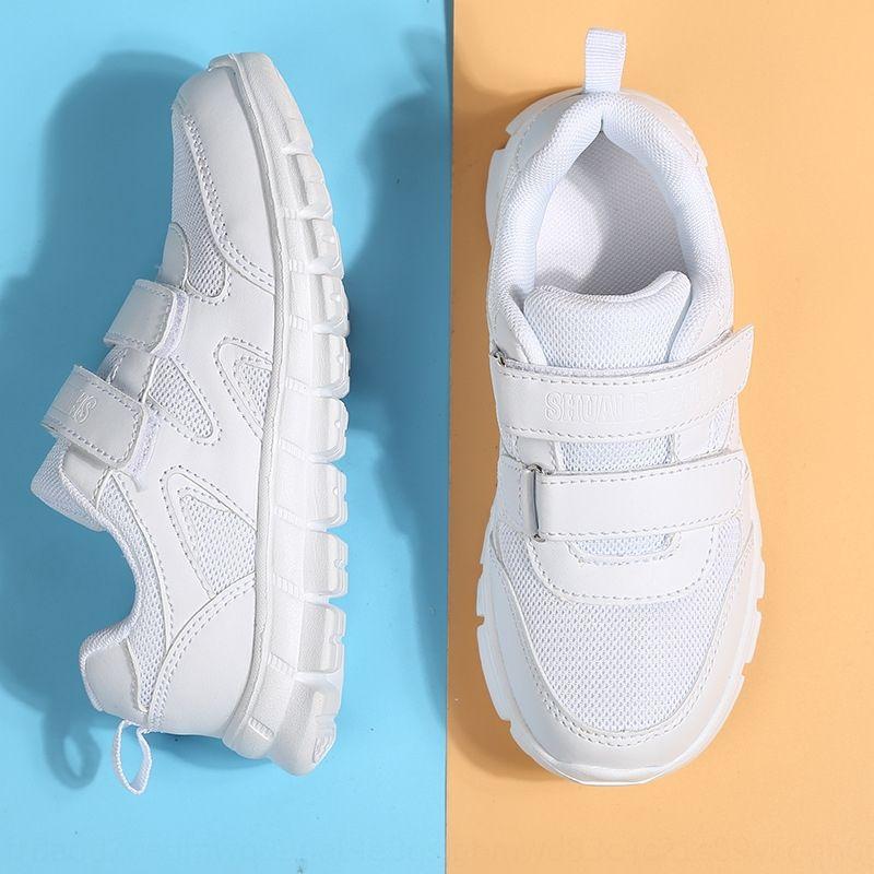 2020 Turnschuhe Kinderschuhe Frühlingssommerkinder weißen Turnschuhe Frühling und Herbst Jungs weißen Schuhe Mädchennetz