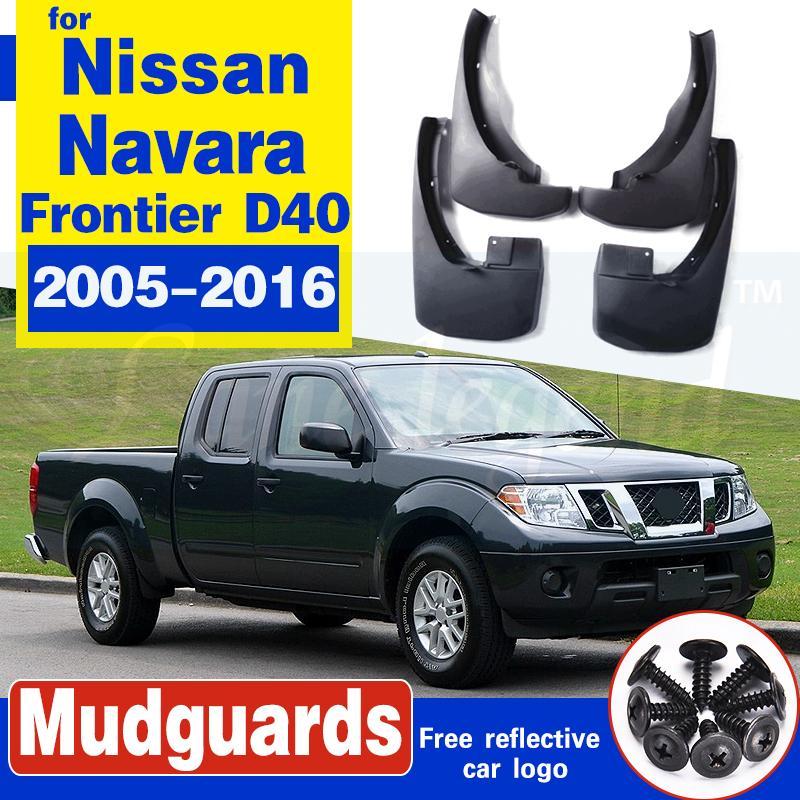 für Nissan Navara Frontier Brute D40 2005 ~ 2016 Auto-Schmutzfänger vorne Kotflügel hinten Splash Zubehör 2011 2012 2013 2014 2015