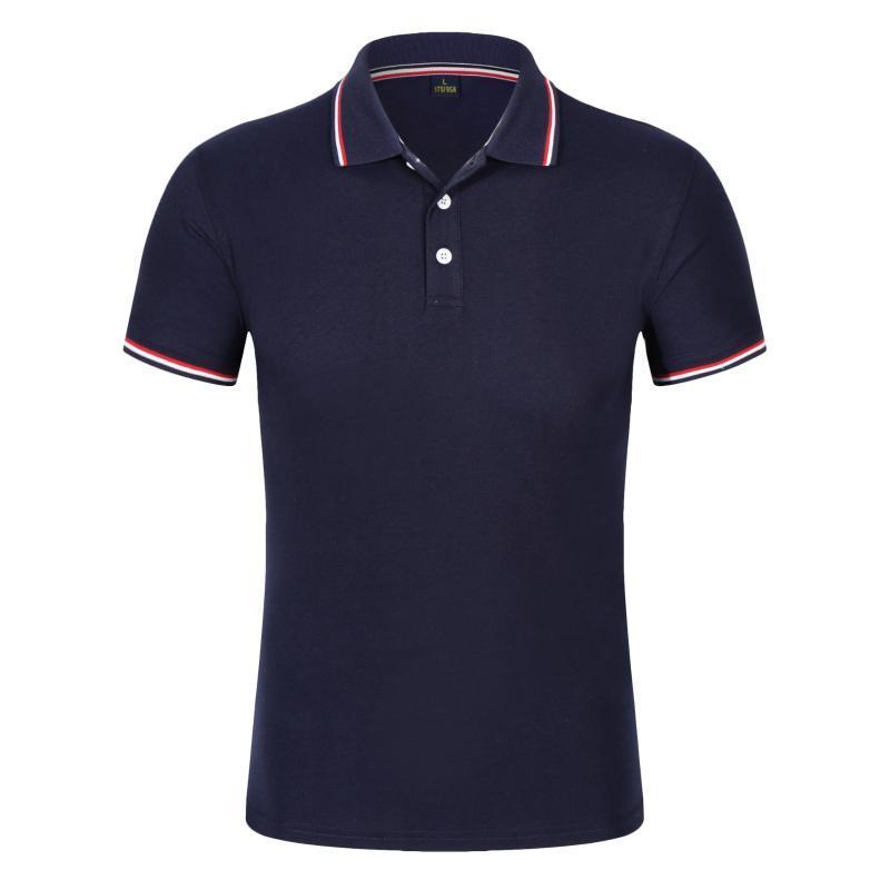 Mens Shirts Marca Roupa Nova manga curta Verão Shirt Man Cotton Poloshirt Homens Plus Size 3XL Golfe Ténis Polos