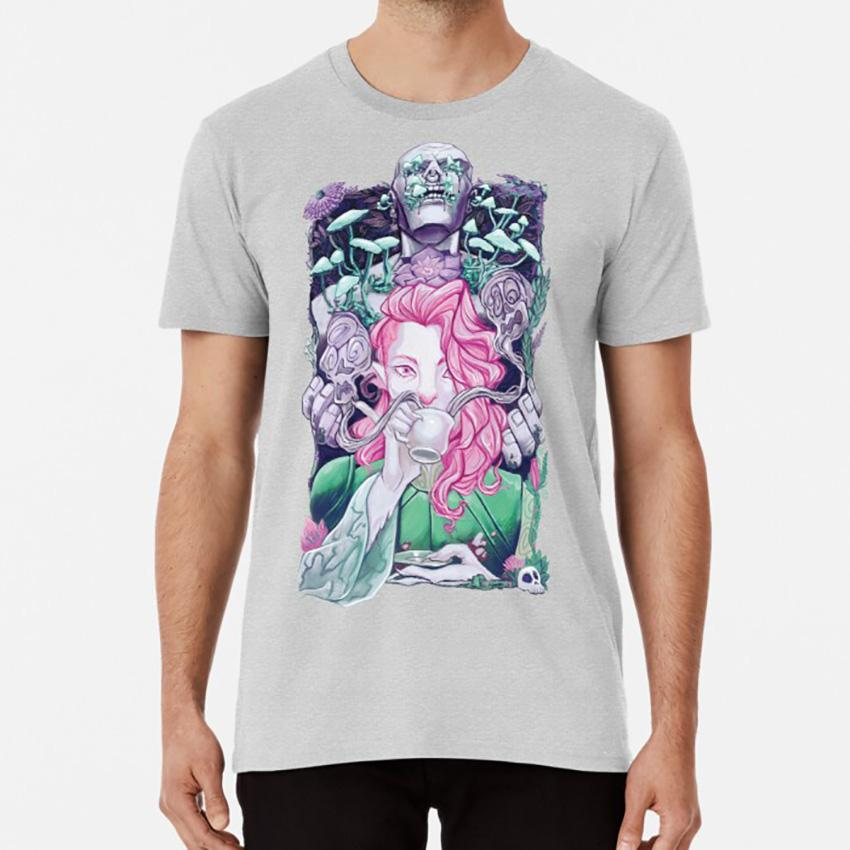 suave reposo camiseta caduceo caduceo arcilla poderosa nein crítico papel de té verde Firbolg flores setas